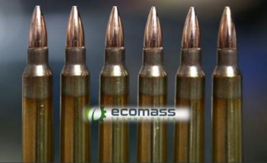 Frangible bullets for hunting deers